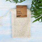 cotton net soap pouch