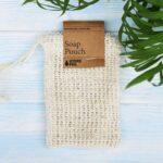 cotton net soap pouch