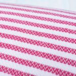 hot pink quick dry turkish towel