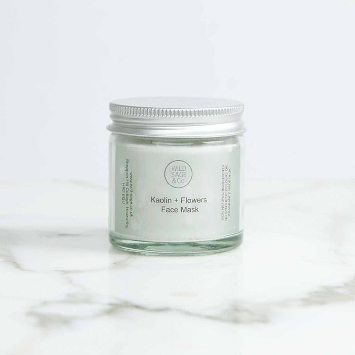kaolin clay face mask wild sage co