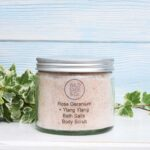 rose geranium bath salt
