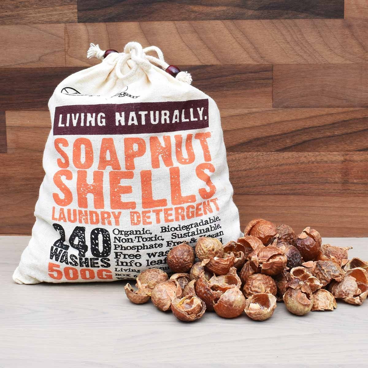 Organic Soap Nut Shells Indian Wash Nuts 500g