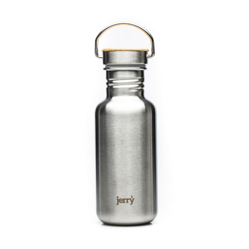 jerry bottle 550ml matt finish bamboo lid