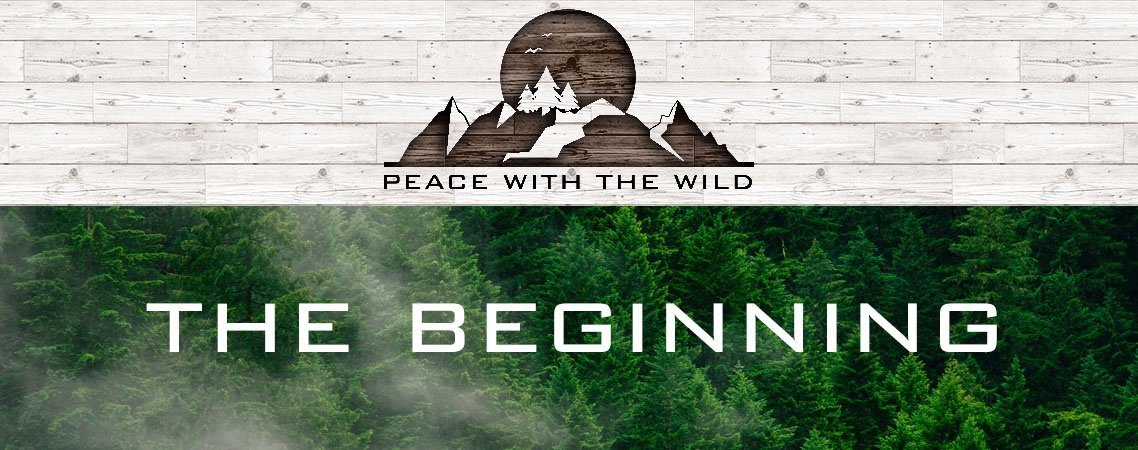 peace with the wild the start blog post