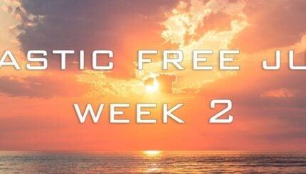 plastic free july week 2 banner