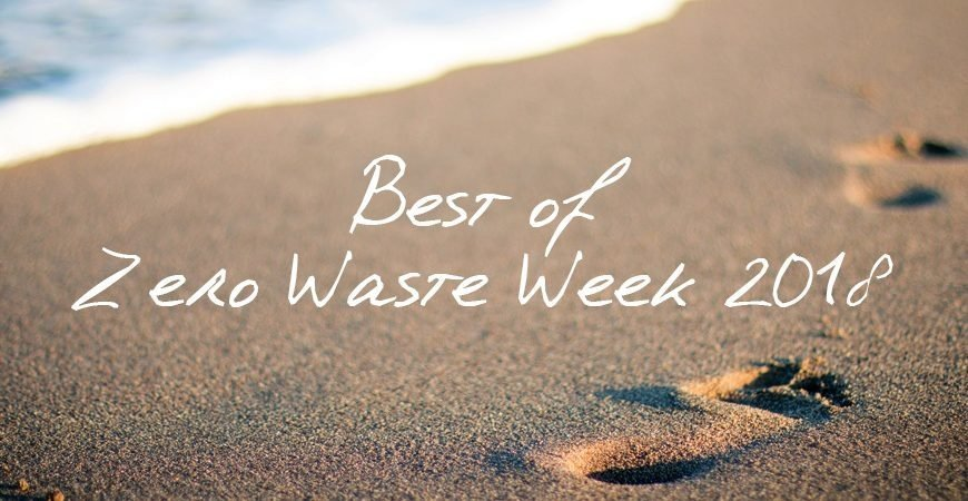 Best Of Zero Waste Week 2018 header
