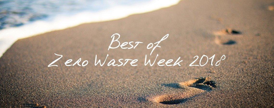 Best Of Zero Waste Week 2018 header