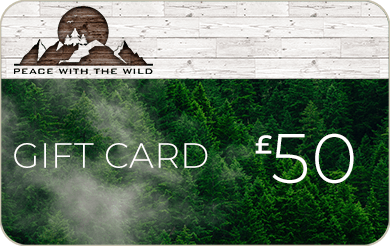 Peace with the wild gift card £50