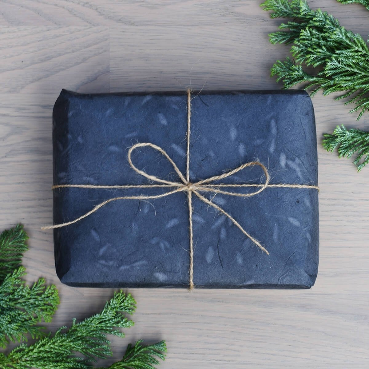 biodegradable wrapping paper lokta sirus indigo wrapped