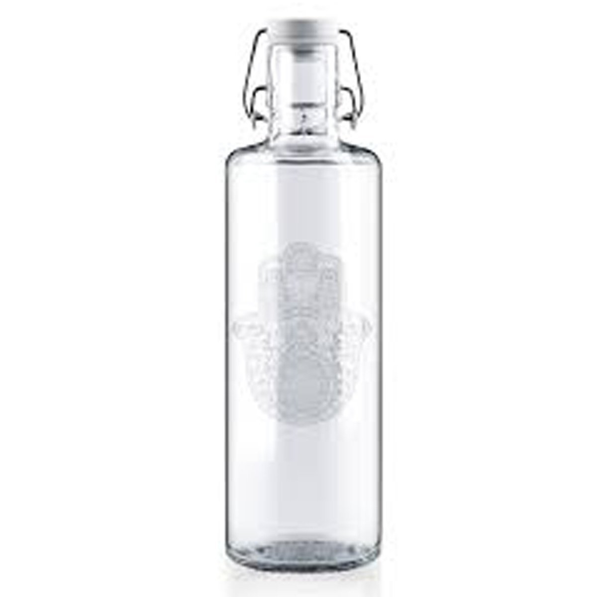 glass drinking bottle soul palm 1l 2
