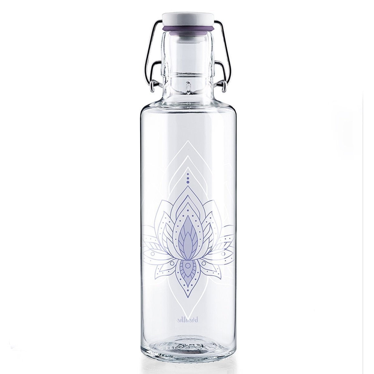 soul glass drinking bottle just breath 0.6l