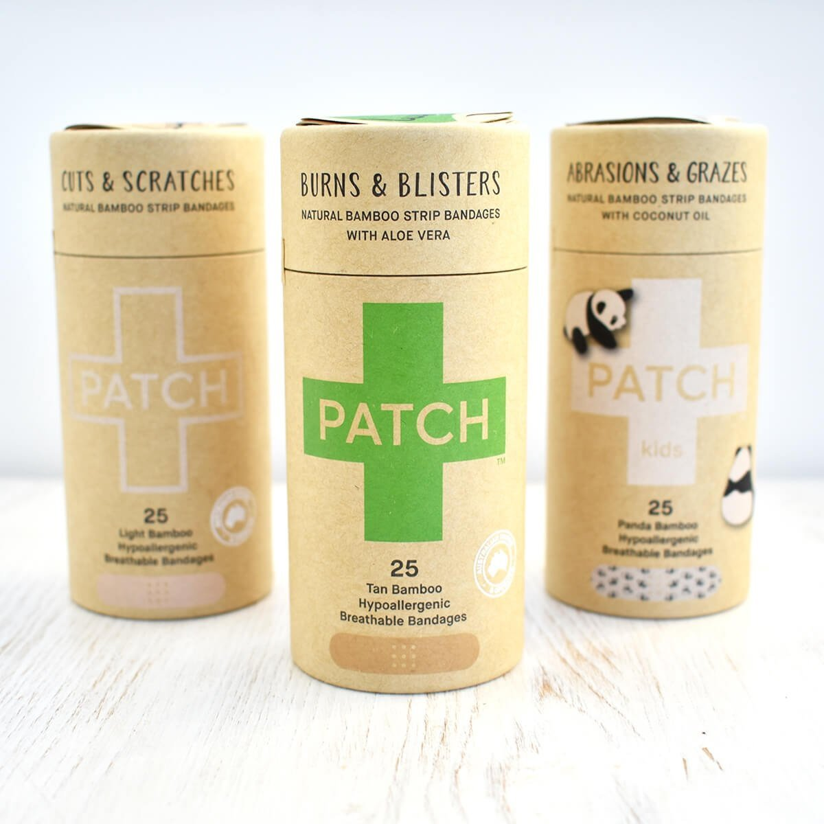 PATCH plastic free plasters collection