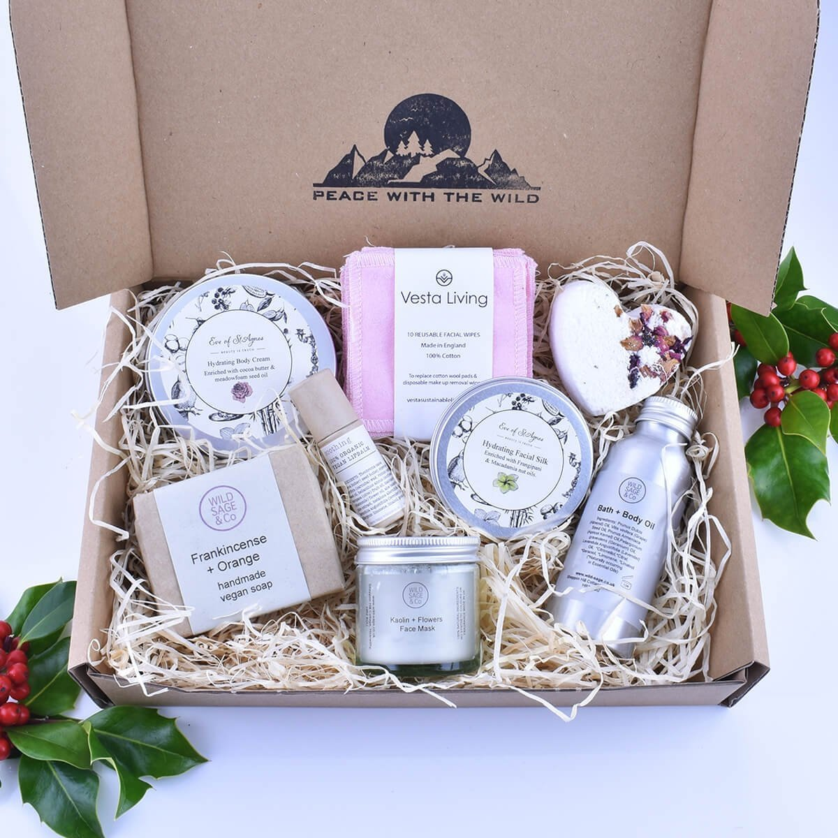 luxury skincare christmas gift set for her