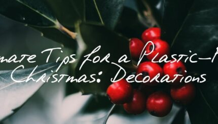 Ultimate Tips for a Plastic Free Christmas Decorations 2018 Peace With The Wild