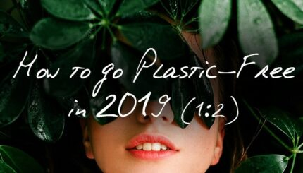 How To Go Plastic Free In 2019 blog part 1