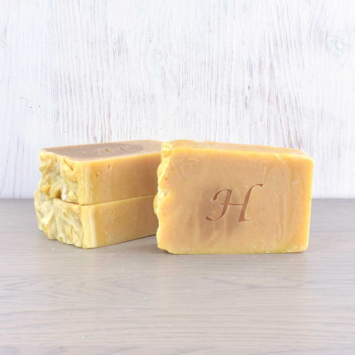 vegan shampoo bar lemon hatton set