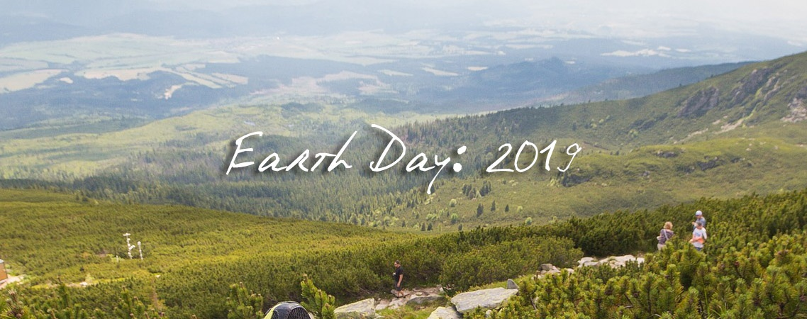 earth day 2019 blog featured banner peace with the wild