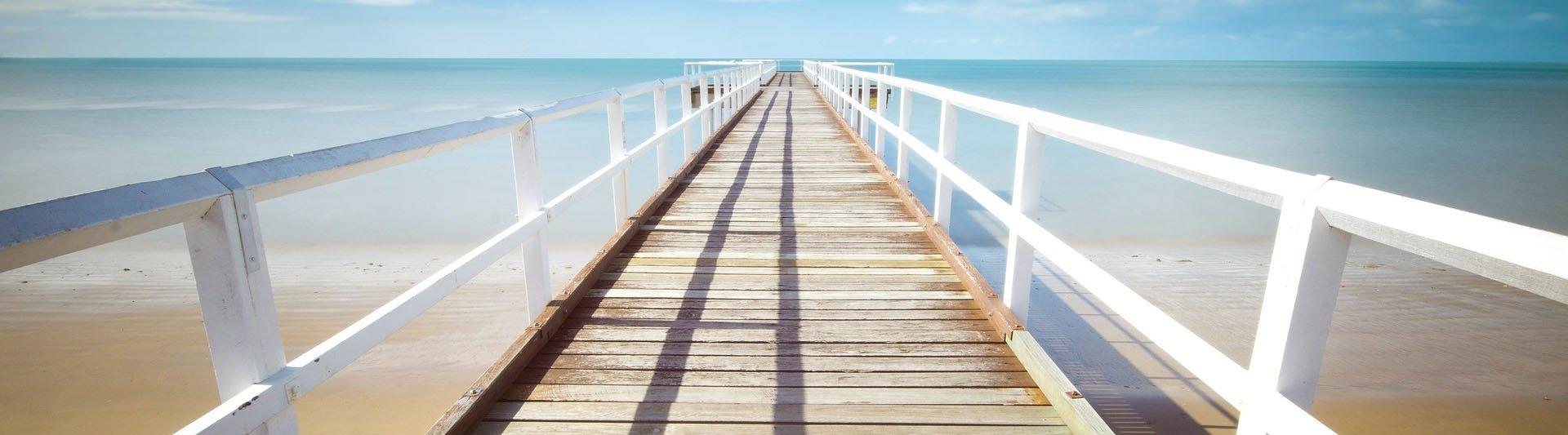 beach pier blog banner