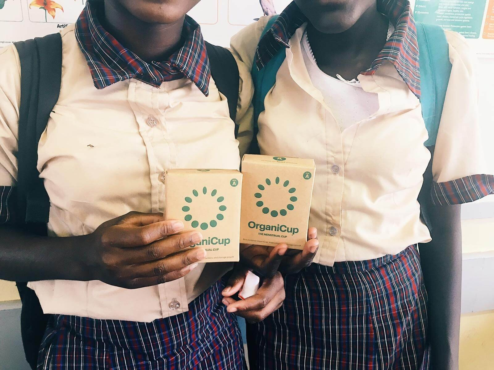 OrganiCups given to pupils