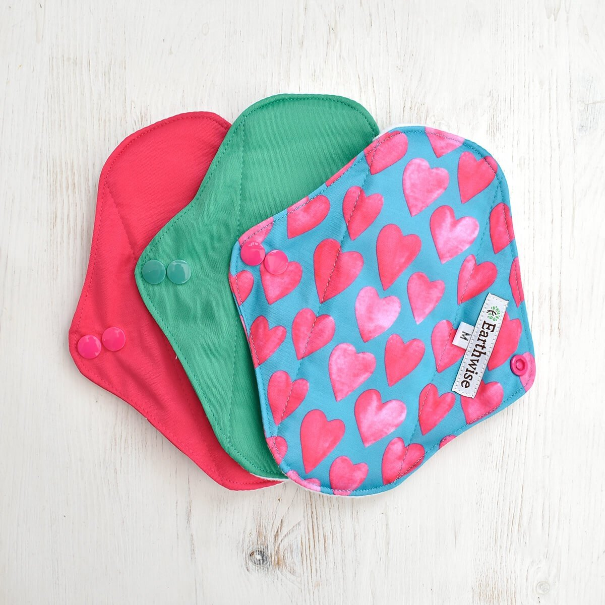 Earthwise Girls reusable sanitary pads