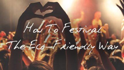 eco friendly fesitval blog
