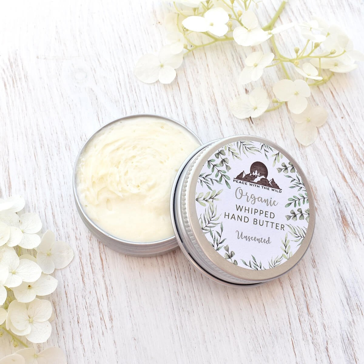 organic hand butter unscented