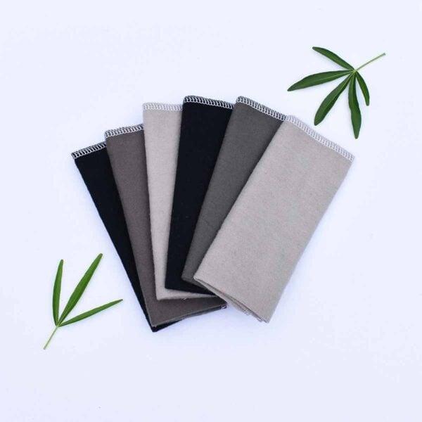 Marley's Monsters 6 Grey Unpaper Towels