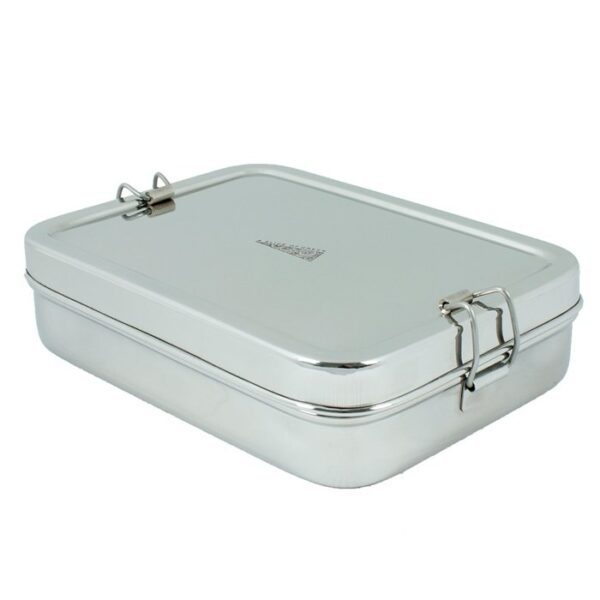A Slice of Green Large Stainless Steel Lunch Box with Mini Container