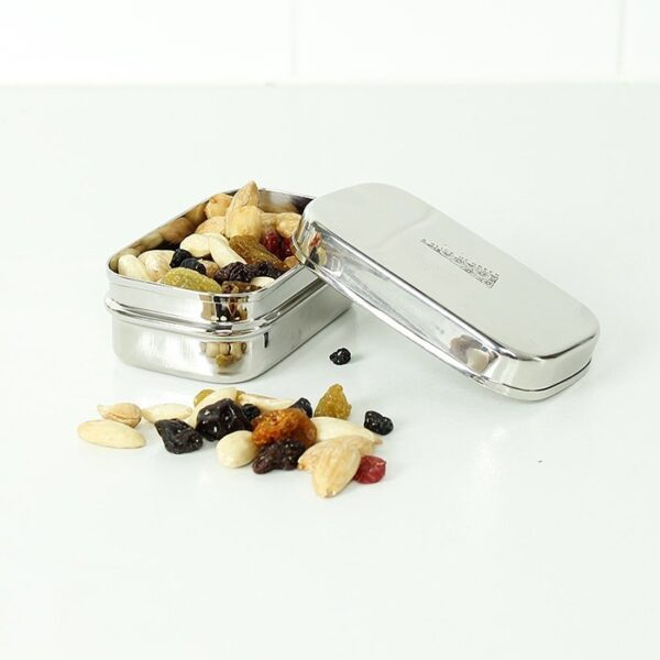 A Slice of Green Stainless Steel Mini Food Container