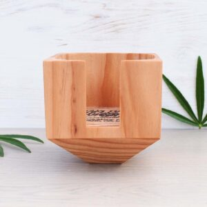 Marleys Monsters Wooden Facial Round Holder