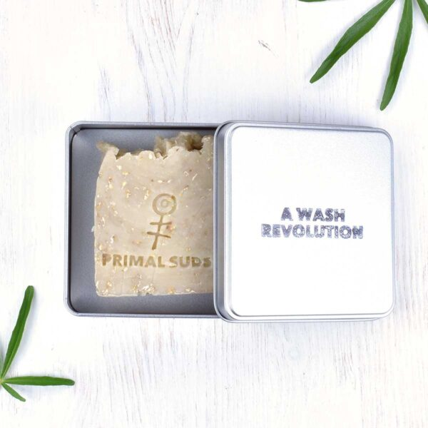 Primal Suds A Wash Revolution Soap Travel Tin With Soap