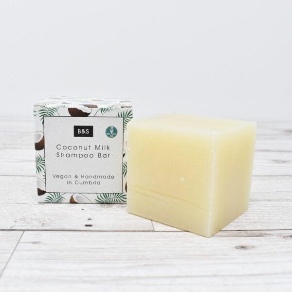 Bain & Savon Unscented Coconut Milk Shampoo Bar