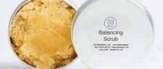 Wild Sage & Co Balancing Salt Scrub and Tin