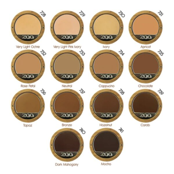 ZAO Compact Foundation Shades