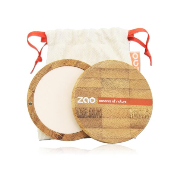 Zao Ivory Compact Powder Case And Bag