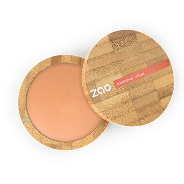 Zao Natural Glow Mineral Cooked Powder And Case