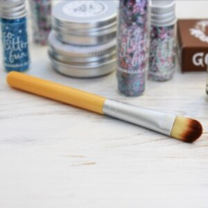 Eco Glitter Fun Bamboo Mini Makeup Brush