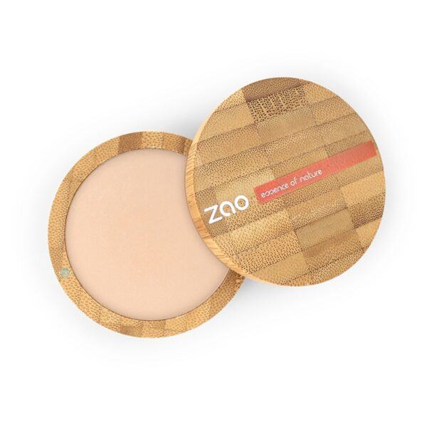 Zao Bright Complexion Mineral Cooked Powder And Case