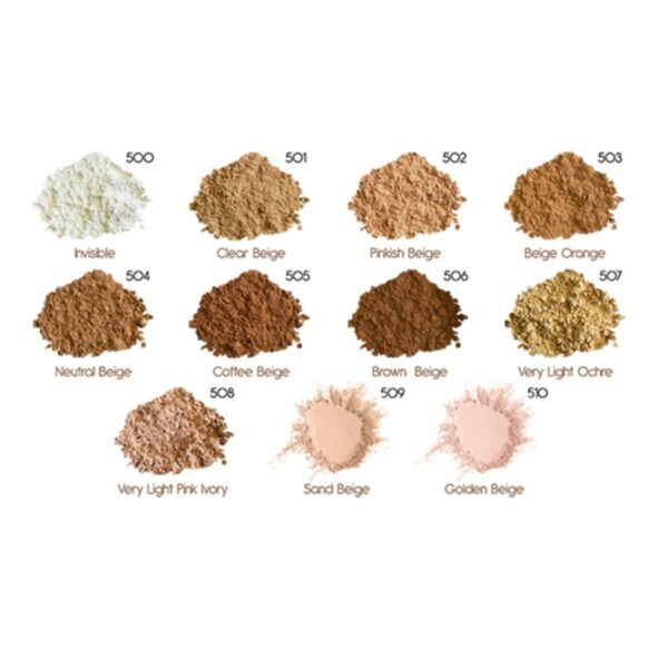 Zao Mineral Silk Foundation Powder Shades