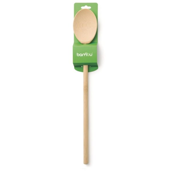 Large Bamboo Spoon In Packaging