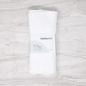 Tabitha Eve Organic Bamboo Wipes 5 Pack