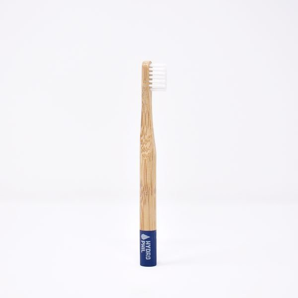 Hydrophil, Children's Bamboo Toothbrush ,blue ,Soft Bristles, children's toothbrush, Biodegradable , compostable,