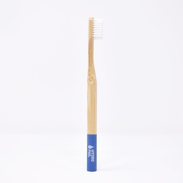 hydrophil, Bamboo Toothbrush , Medium Bristles ,Light Blue,