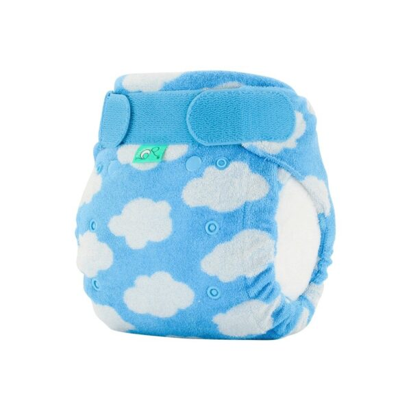 Totsbots Bamboozle Night Time Cloth Nappy Side View