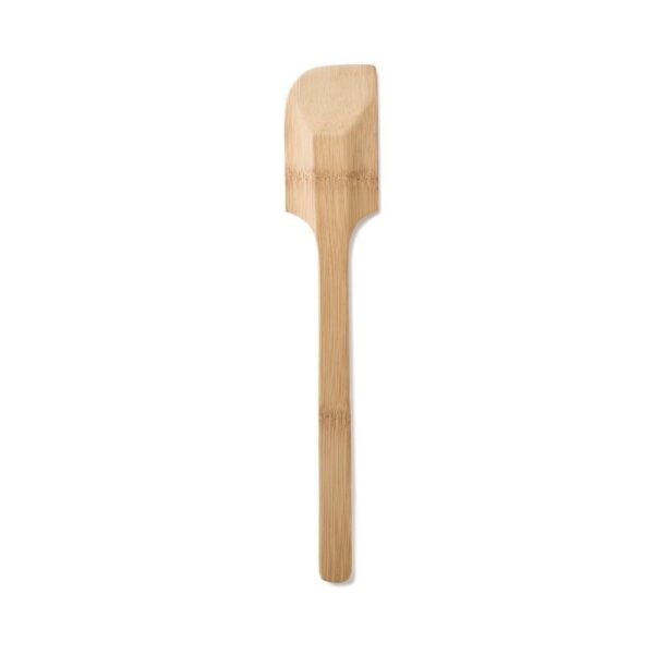 Bambu Large Bamboo Spatula On White Background