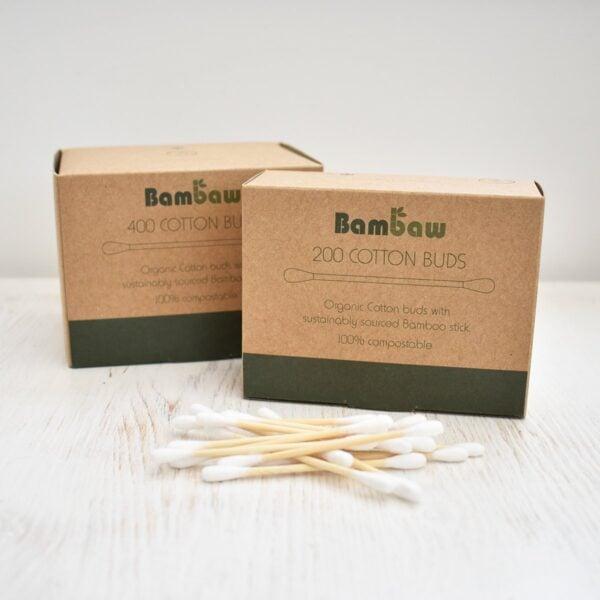 bambaw, Bamboo Cotton Buds, cotton buds, cotton swabs, plastic-free, bio-degradable, vegan friendly,