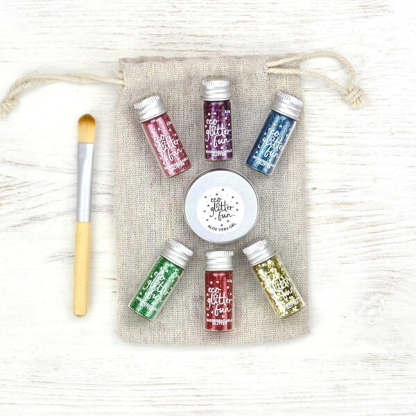 Eco Glitter Fun Rainbow Eco Glitter Set