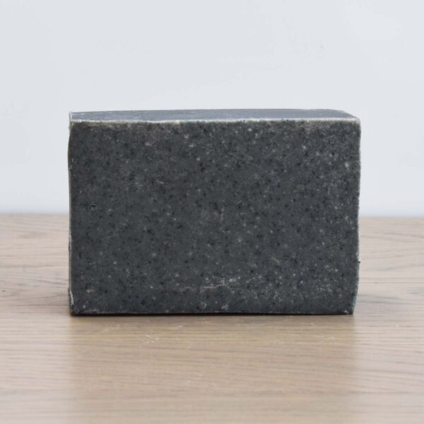 Bain & Savon, Bain and Savon , Charcoal and Sea Salt Facial Soap Bar, cleansing facial soap, vegan-friendly, natural, plastic-free, bio-degradable, handmade,