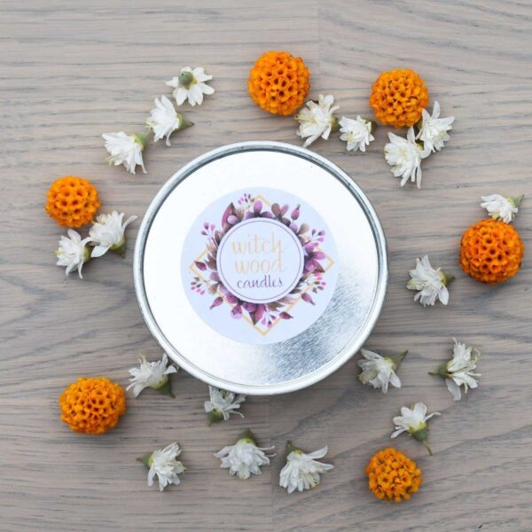 Witchwood Cinnamon & Orange Soy Wax Candle Lid