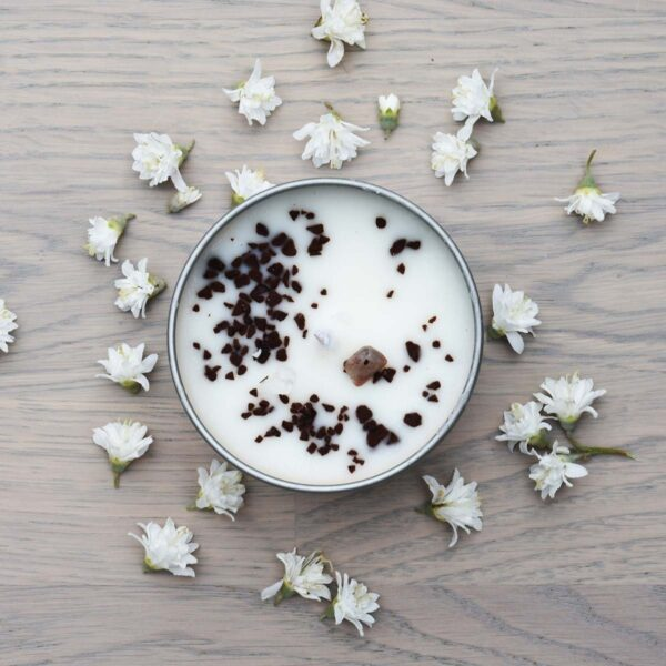 Witchwood Coffee & Vanilla Soy Wax Candle